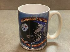 Pittsburgh Steelers Super Bowl XXX 30 Coffee Mug Cup 1995 AFC Champions