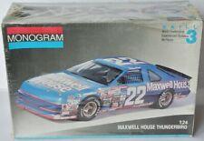 Monogram Bausatz 1991 - FORD NASCAR * MAXWELL HOUSE * Sterling Marlin - 1:24