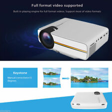 Home projector YG400 HDMI 3D 1080P HD Multimedia Portable Theater Cinema USB NEW