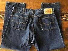 Levi's 501 Men's Dark Wash Straight Leg Button Fly 44x32 (Tag) Actual 41X30