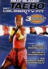 Billy Blanks Tae Bo: Get Celebrity Fit Cardio NEW