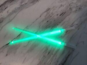 """Star Wars Green Lightsaber Chopsticks 10"""""""