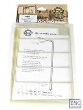 455 Ratio Modern street lights OO Gauge Plastic Kit