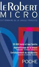 Le Robert Micro Poche Dictionnaire de la Langue Francaise (French Edition), Rey,