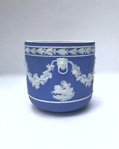 Wedgwood Lavender-blue Jasperware Jardiniere, c. 1820