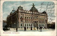 Hannover Niedersachsen AK 1904 gelaufen nach Eschede Postgebäude Post Behörde