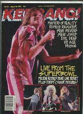 Kerrang #253 Poison Ice Age Evil Dead Steve Jones Steve Stevens Vixon Mbx72