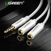 Ugreen Audio Câble Adaptateur 3.5mm Mâle vers 2 Femelle Splitter Audio Dédoubleu
