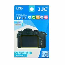 JJC LCP-G7 Camera LCD Screen Protector Guard Film Cover for Panasonic Lumix G7
