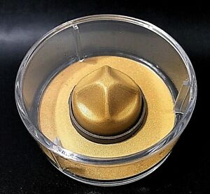 """Canada 2021 $25 """"Classic Mountie Hat"""" 1.5 oz Gold Plated Silver Coin."""