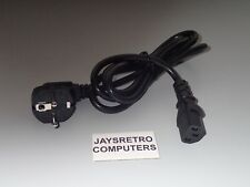 ATARI ST STFM STE STF MEGA FALCON 030 TT SCHIKO 2 PIN EUROPE EU POWER CABLE