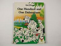 Walt Disney One Hundred and One 101 Dalmatians Twin Book hardcover 1986