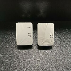 ZyXEL PLA4201 500 Mbps HD Powerline Adapters Quantity 2