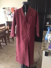 GIL AIMEZ SNAFU VINTAGE QUILTED WOMEN'S OVERCOAT MADE IN THE U.S.A.