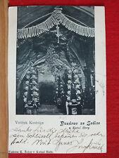 Fotokarte - Pozdrav ze Sedlce u Kutne Hory / Kuttenberg - Beinhaus - gel 1903