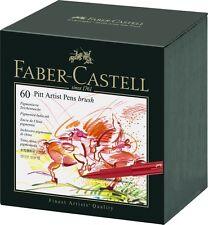 Faber Castell 60 Piece Pitt Artist Brush Pen Set Gift Box