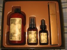 New Wen Chaz Dean Hair Care Gift Set Sweet Almond Mint - Conditioner, Oil, Mist