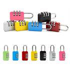 Security 3 Digit Combination Travel Suitcase Luggage Bag Code Lock Padlock New