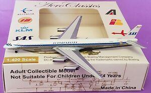 Aero Classics 1:400  Douglas DC-8-63 SAS Scandinavian Airlines System o/c