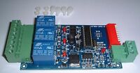 3CH dmx512 4 amp relay Controller PCB UK Stock