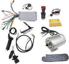 Electric Brushless Dc Motor Kit, 48V 1800W High Speed Motor Controller Go Kart