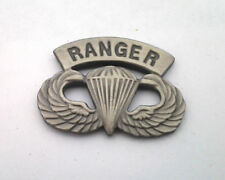 US ARMY AIRBORNE PARATROOPER RANGER WINGS Military Veteran Hat Pin 14747 HO