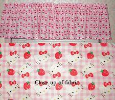 New Hello Kitty Valances Curtain Window Cover