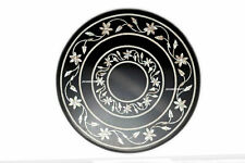 """18"""" Marble coffee Table Top Paua Shell Inlaid Luxurious Table Living Room Decor"""