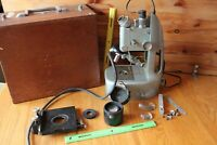 Unitron Microscope TM25-632 Vintage FOR PARTS OR REPAIR