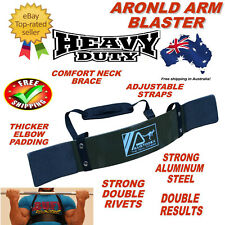 AUSTODEX BODYBUILDING WEIGHT LIFTING BICEP ARNOLD ARM BLASTER EZ BAR CURL ARMS