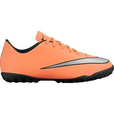 Nike Mercurial Victory Iv Tf Turf Soccer Shoes 2016 Mango / Silver Kids Youth