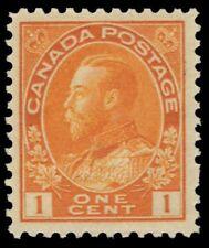 "CANADA 105 - King George V Admiral  ""Die I Wet Printing"" (pa15539) NH"