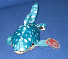 Retired TY POSEIDON the WHALE BEANIE BABY - MINT with MINT TAGS