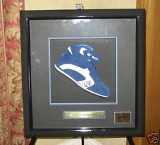 SIGNED & FRAMED JENSON BUTTON BAR F1 BOOT SET  AWESOME