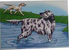 English Setter notecards (10 notecards)