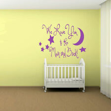 Unbranded Baby Children's Wall Decals & Stickers