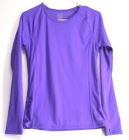 Champion Women's Duo Dry Long Sleeve Shirt Size S