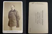 Thiébault, Paris, Théodore Barrière Vintage carte de visite, CDV. Louis Théodo