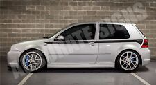 VW GOLF MK4 GRAPHICS SET STICKERS STRIPES CAR DECALS ANY COLOUR