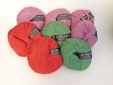 Jo Sharp ALPACA KID LUSTRE, 8 Balls in 3 beautiful colors, + Free Pattern