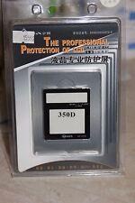 CANON 350D DSLR CAMERA LCD HOOD AND SCREEN PROTECTOR BNIB