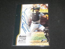 TOBY HALL DEVIL RAYS STAR SIGNED AUTOGRAPHED CERTIFIED AUTHENTIC BASEBALL CARD
