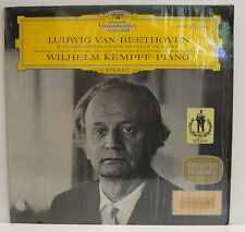 "BEETHOVEN WILHELM KEMPFF KLAVIERSONATEN NR. 4, NR. 9 & NR. 10 12"" LP (e753)"