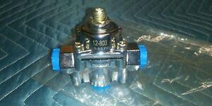 *NEW* Holley 12-803 Chrome Adjustable Fuel Pressure Regulator 4.5-9 PSI