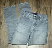NYDJ Not Your Daughters Size 2 Gray Lift Tuck Skinny Stretch Jeans Pants