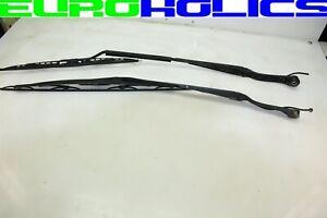 PAIR OEM Jaguar X350 XJ8 04-07 Windshield Wiper Arms Left Right Sprayer Nozzle