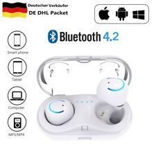 Dual Kabellos Headset Mini Stereo Kopfhörer Bluetooth 4.2 Drahtlose Ohrhörer