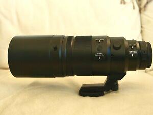 Panasonic Lumix G Leica DG Elmarit 200mm F/2.8 Lens + 1.4x tele - Mint!