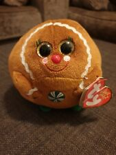 Ty Beanie Ballz Ginger - Gingerbread Christmas Collectable Xmas Present Gift