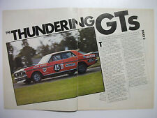 THE THUNDERING GTs PART TWO HISTORY OF THE FALCON GT FROM THE XY GTHO TO XE ESP